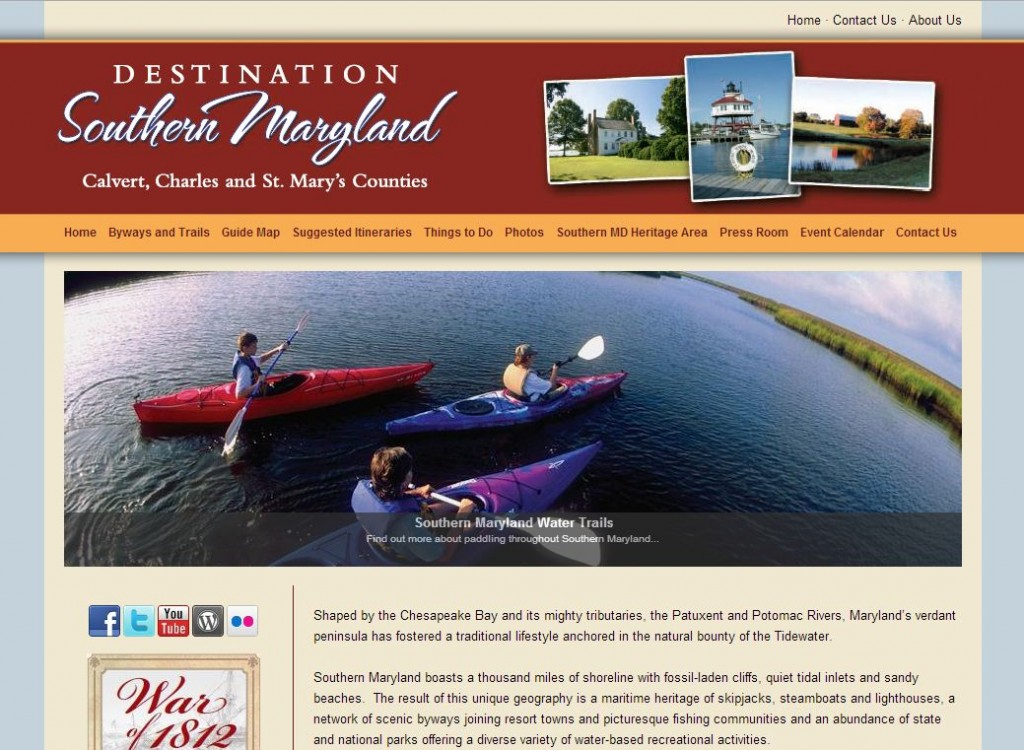 southern maryland web design